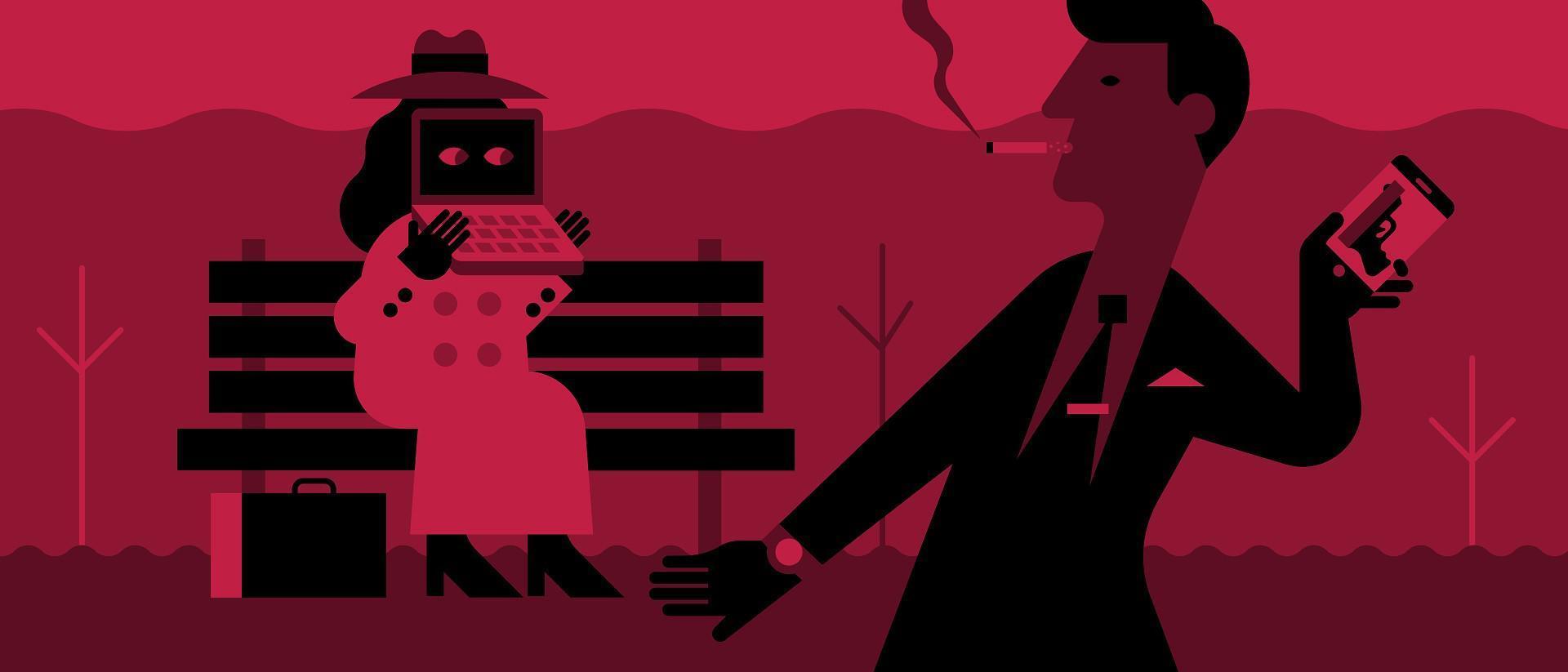 illustrate cyber attack