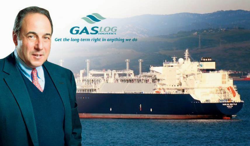 Πήτερ Λιβανός GasLog ναυτιλία