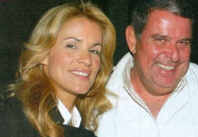 Το ζεύγος Πάνος και Ιωάννα Μαρινοπούλου.
