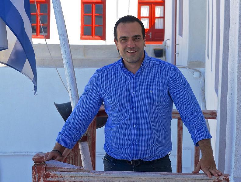 Κωνσταντίνος Κουκάς. Δήμαρχος Μυκόνου