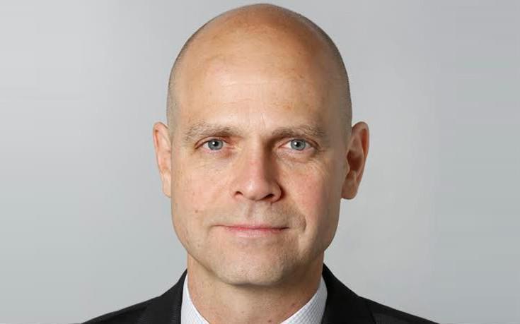 Alexander Zinell. CEO Fraport Greece