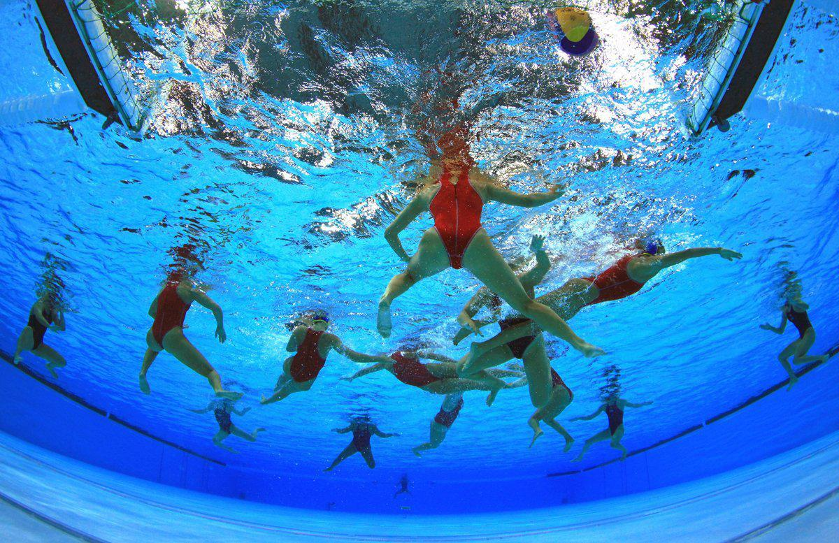 imming pool olympic games