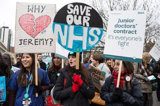 Junior-Doctors-strike-and-protest