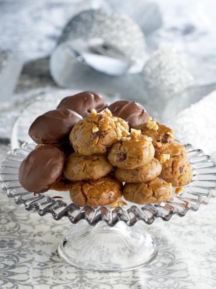 μελομακάρονα σοκολατα