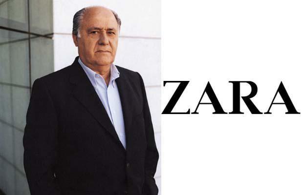 Amancio Ortega. Μέτοχος Zara