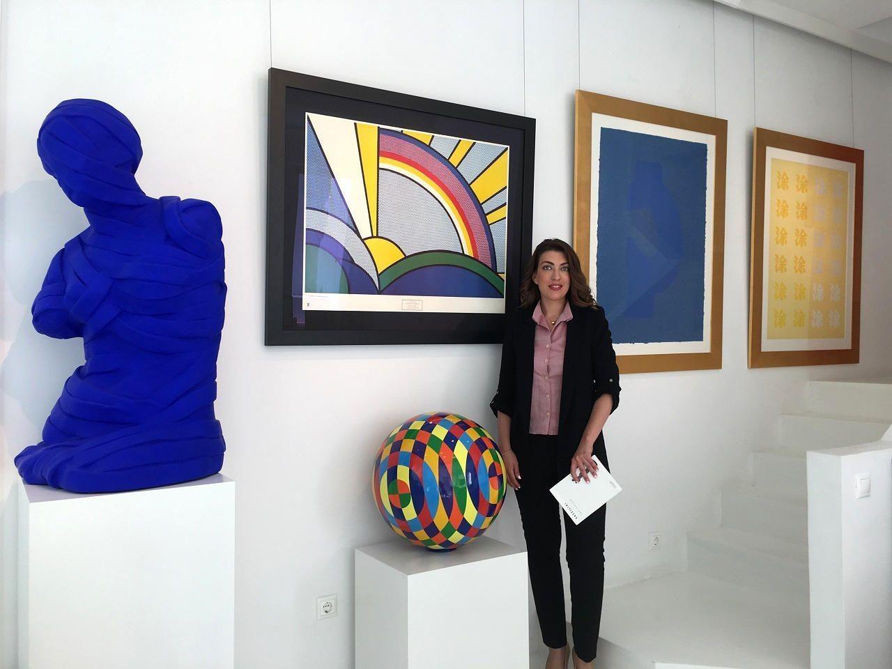 Μένια Κούλη, διευθύντρια της Mamush Gallery