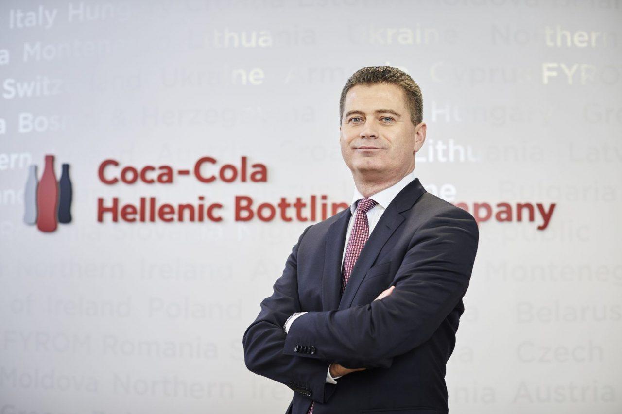 O Zoran Bogdanovic, CEO της Coca-Cola HBC