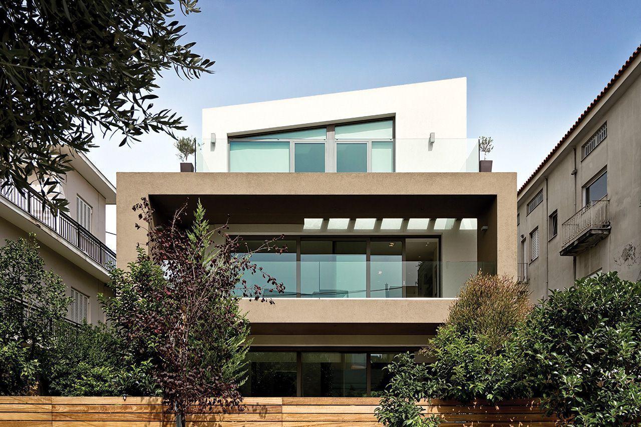 Μια μοντέρνα κατοικία στο αστικό περιβάλλον του Χαλανδρίου,διαφορετική από τις άλλες! Και να το γιατί