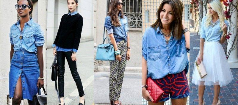 Πώς θα φορέσεις και με τι θα συνδυάσεις το τζιν πουκάμισο - mononews 0af2deee6e6