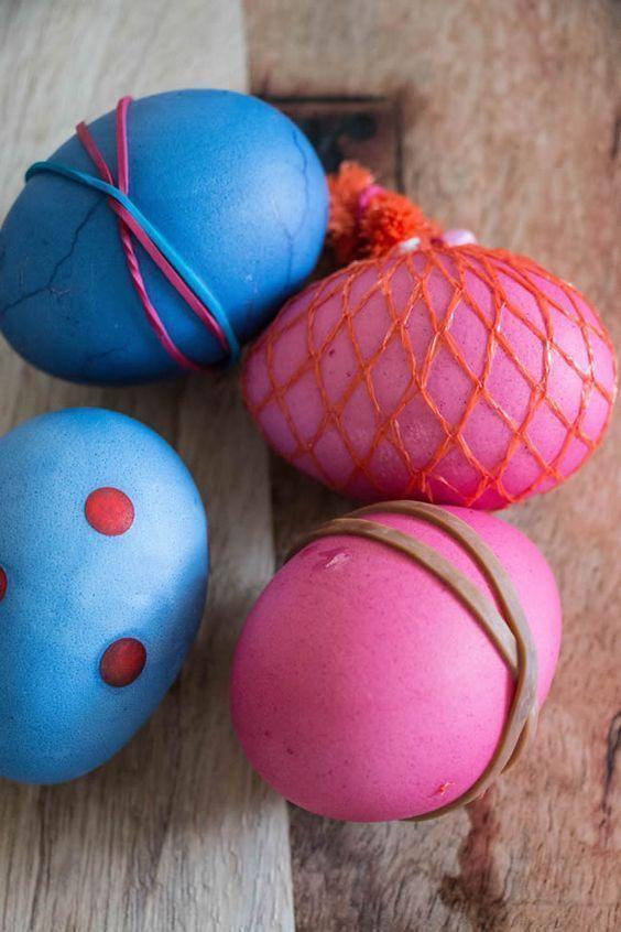 αυγά με ρίγες