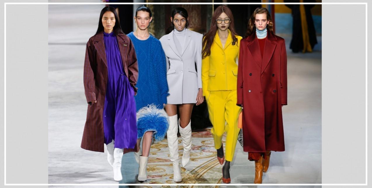 Οι σχεδιαστές για αυτή τη σεζόν επιφύλασσαν πολλές χρωματικές εκπλήξεις  αλλάζοντάς μας εντελώς την αντίληψη που είχαμε μέχρι τώρα για τα φθινοπωρινά  και ... 8eef6f340bd