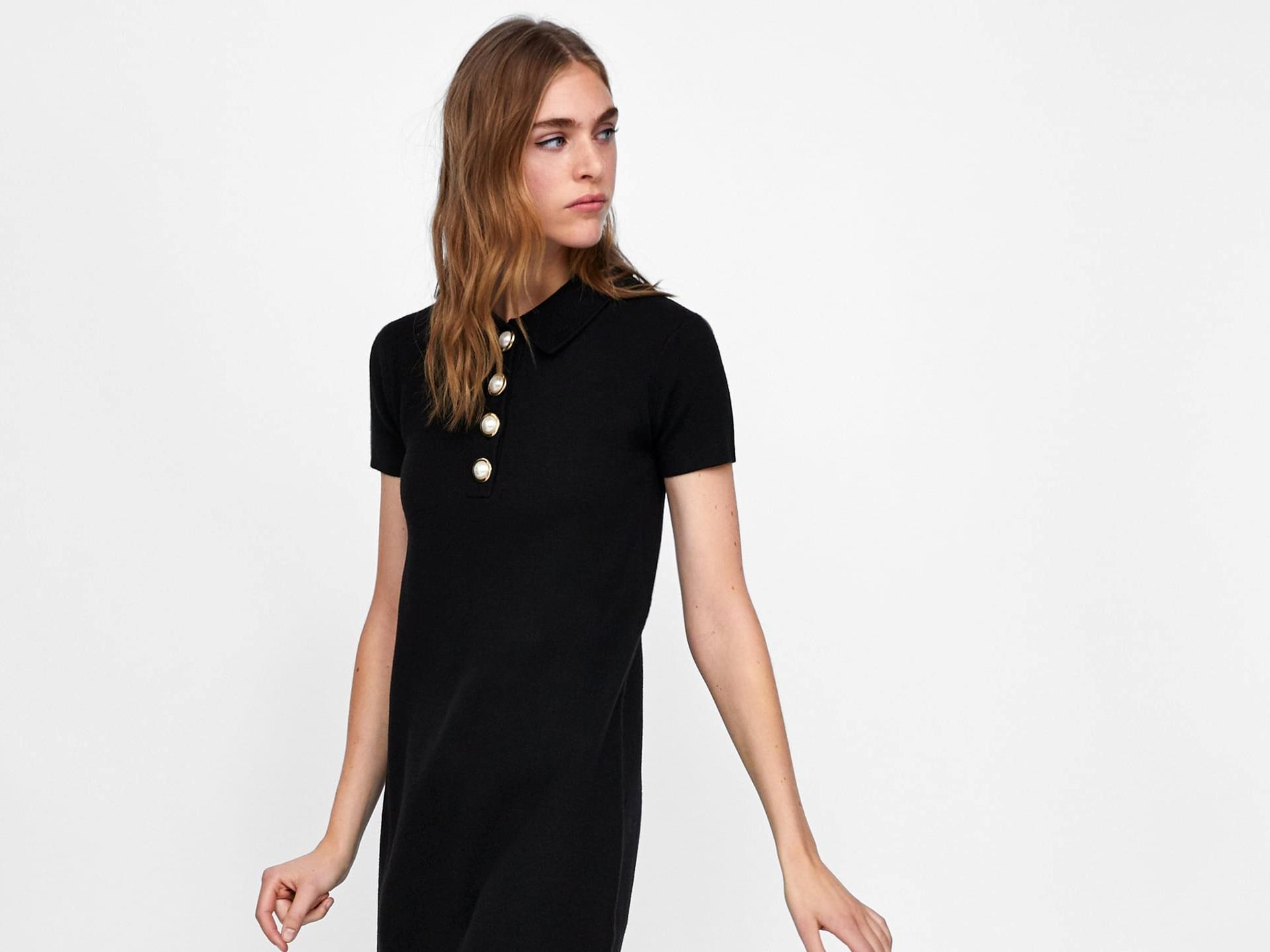 ZARA  15 υπέροχα μαύρα φορέματα για τις φθινοπωρινές σας εμφανίσεις ... cd2d9a2e8c9