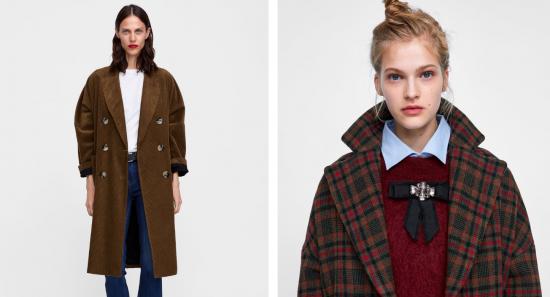 97308d5d618b ZARA  10+1 υπέροχα παλτό που θα σας κρατήσουν ζεστές και στυλάτες τον  χειμώνα