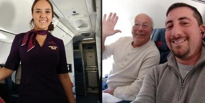 Συγκίνηση: Πατέρας «έκλεισε» 6 πτήσεις για να είναι κοντά στην κόρη του τα Χριστούγεννα