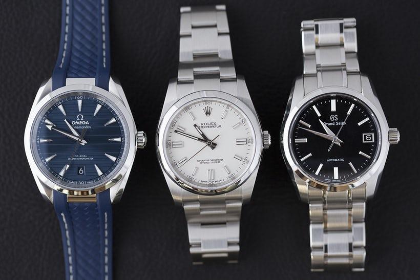 Τρία αυτόματα ρολόγια από τρεις μεγάλες εταιρείες 7bb91635b01