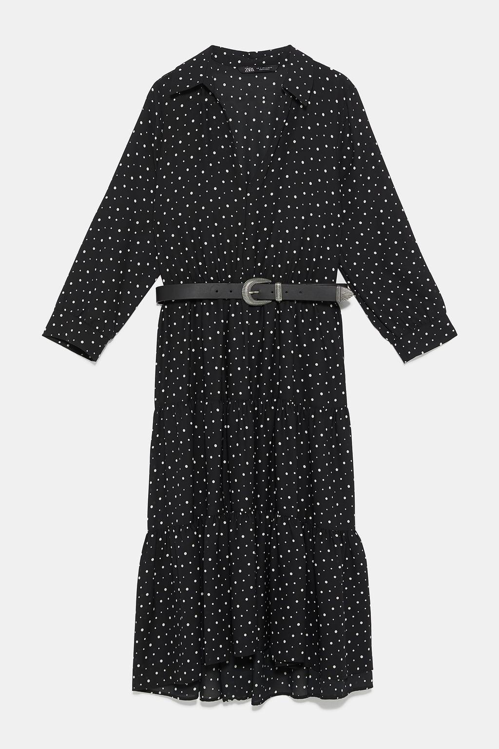 ZARA  10 casual φορέματα σε άσπρο-μαύρο για τη νέα σεζόν! - mononews d3e29582afe