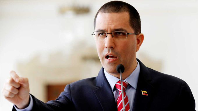 Jorge Arreaza, ΥΠΕΞ Βενεζουέλας