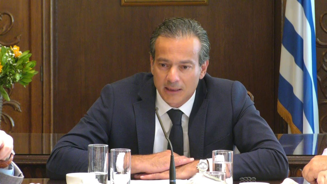 Σταύρος Καφούνης, πρόεδρος του ΕΣΑ