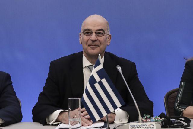Νίκος Δένδιας, υπουργός Εξωτερικών