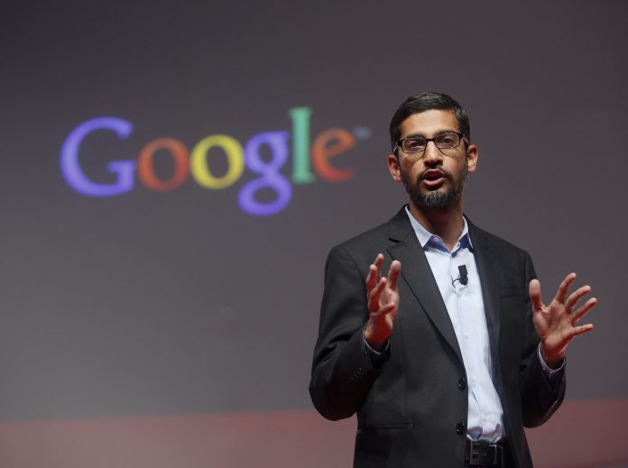Σούνταρ Πιτσάι google
