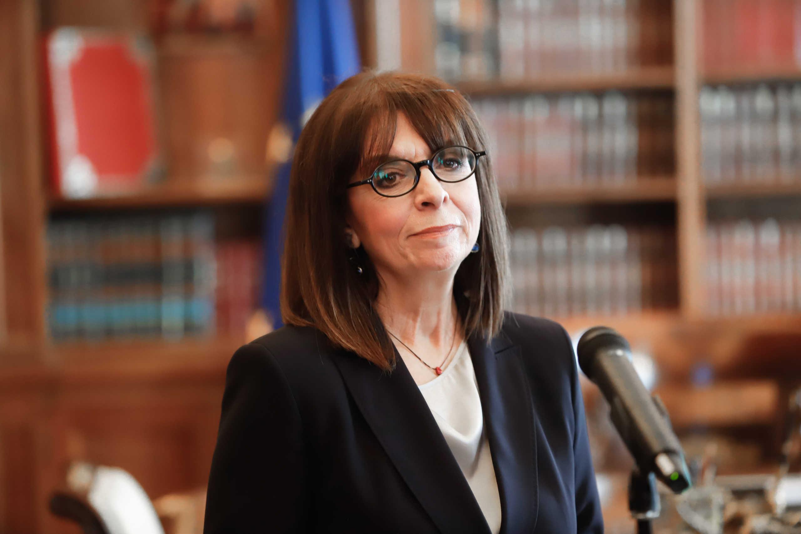 Σακελλαροπούλου, Πρόεδρος της Δημοκρατίας