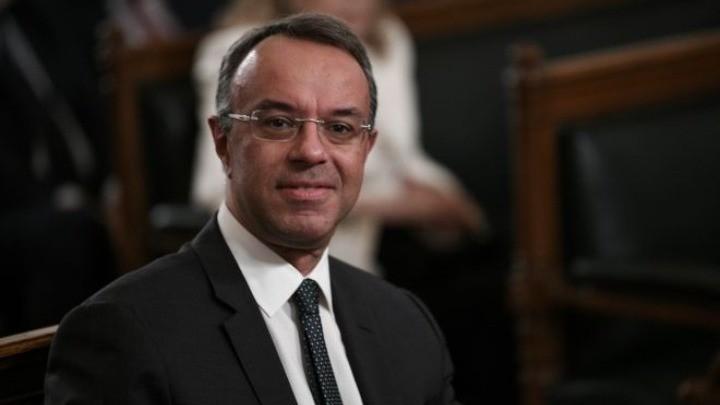 Χρήστος Σταικούρας. Υπουργός Οικονομικών