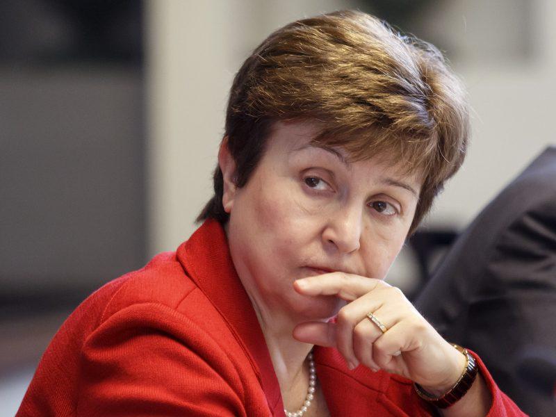 Κρισταλίνα Γκεοργκίεβα, ΔΝΤ