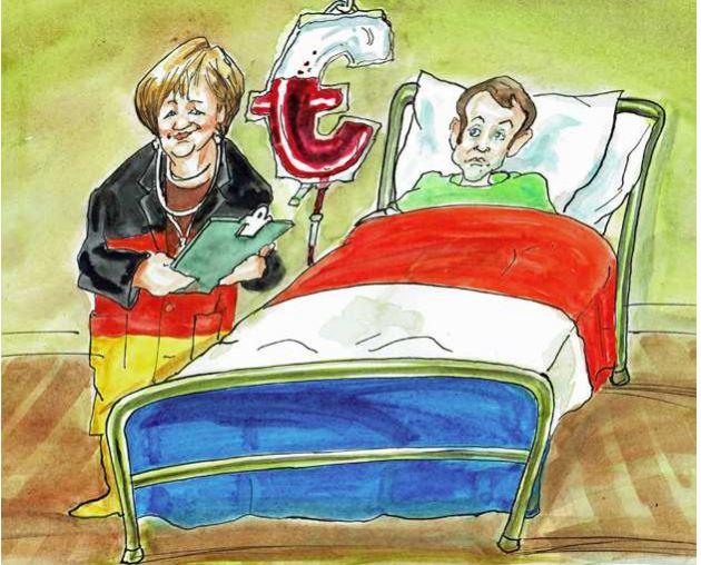 Η Γερμανία διασώζει» τη Γαλλία