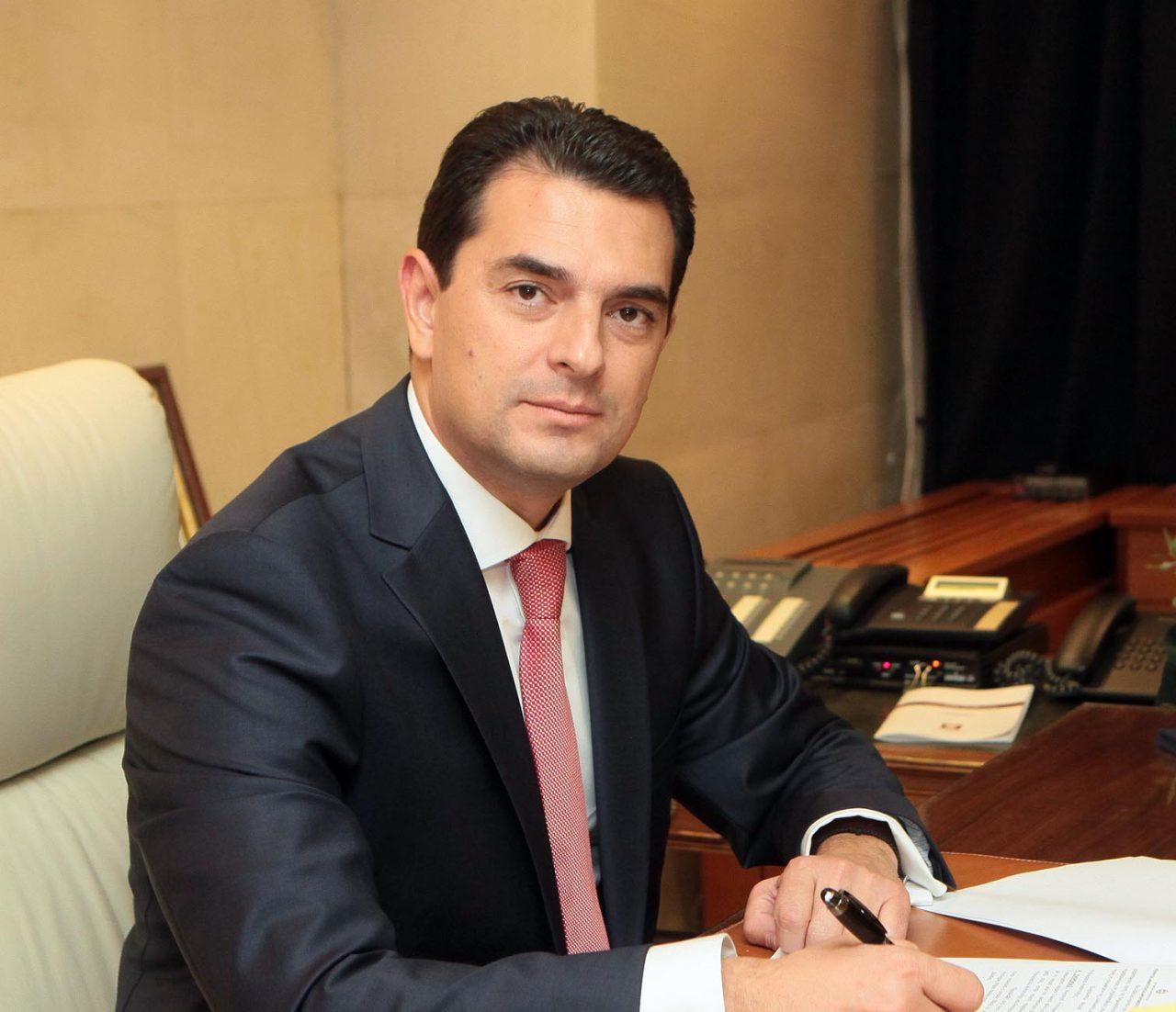Κώστας Σκρέκας, υπουργός Περιβάλλοντος και Ενέργειας