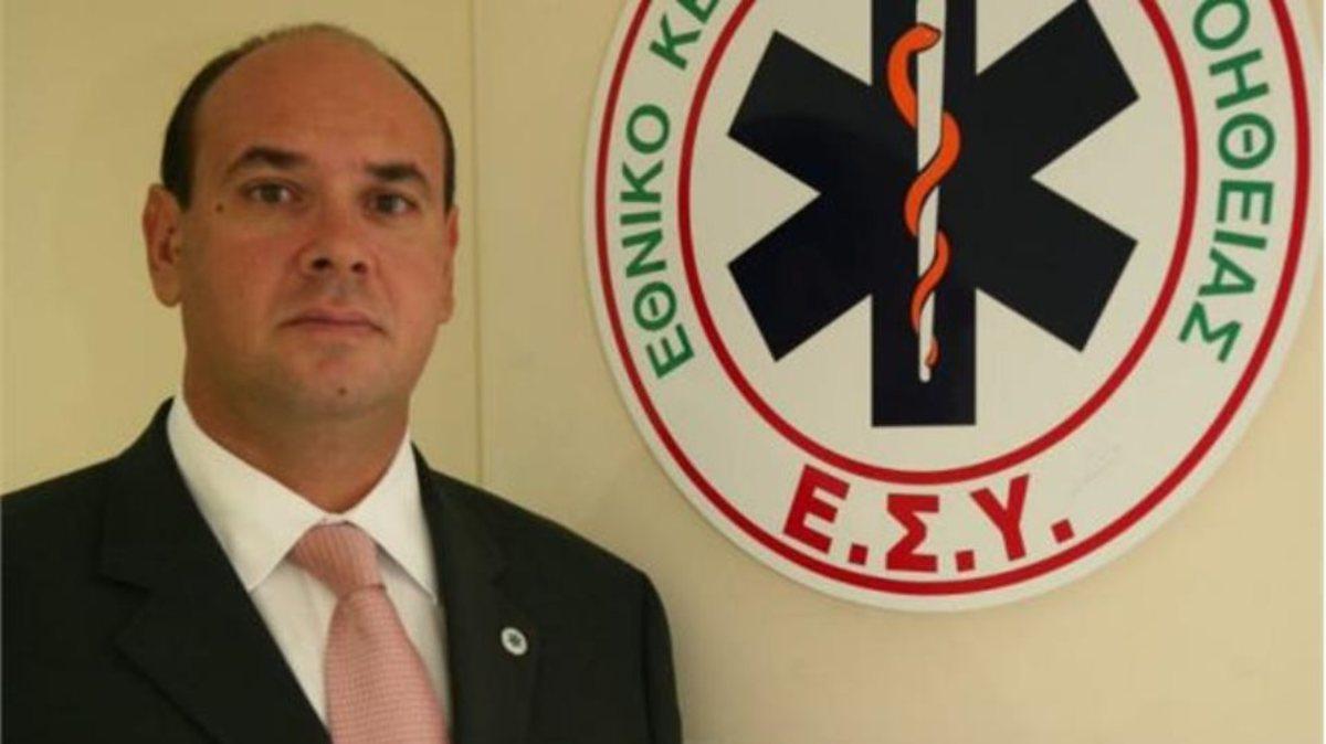 Νίκος Παπαευσταθίου, πρόεδρος ΚΕΠΥ – ΕΚΑΒ