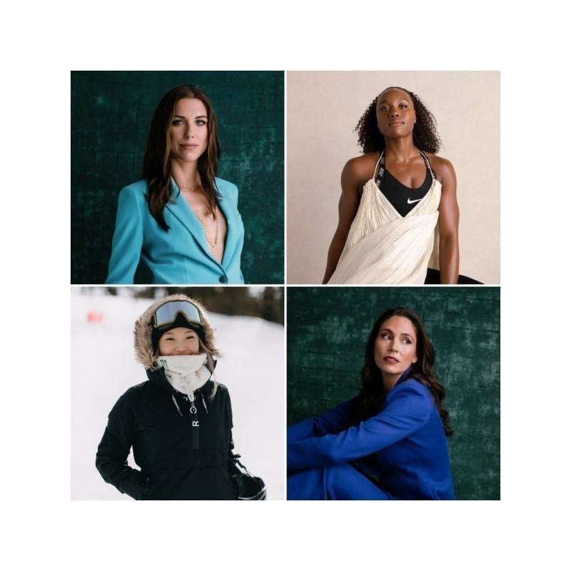 4 αθλήτριες ενώνουν τις δυνάμεις τους και ιδρύουν εταιρεία που θα δώσει φωνή στις γυναίκες