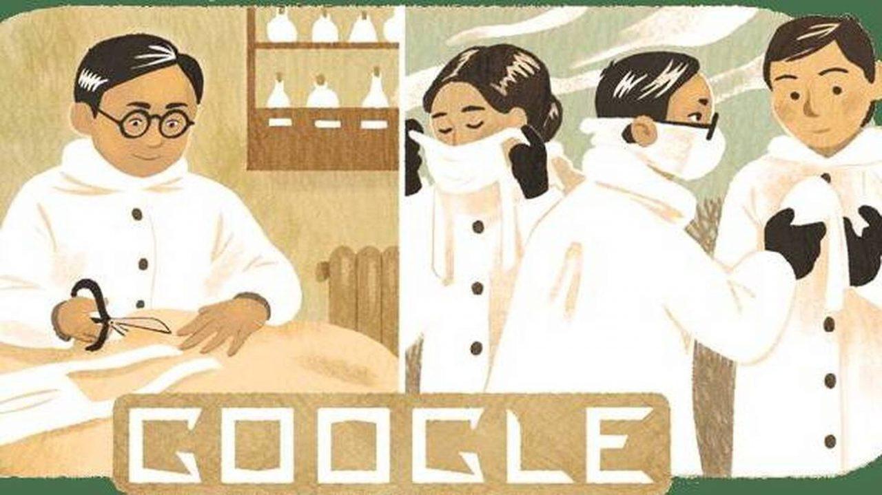 Dr. Wu Lien-teh google doodle