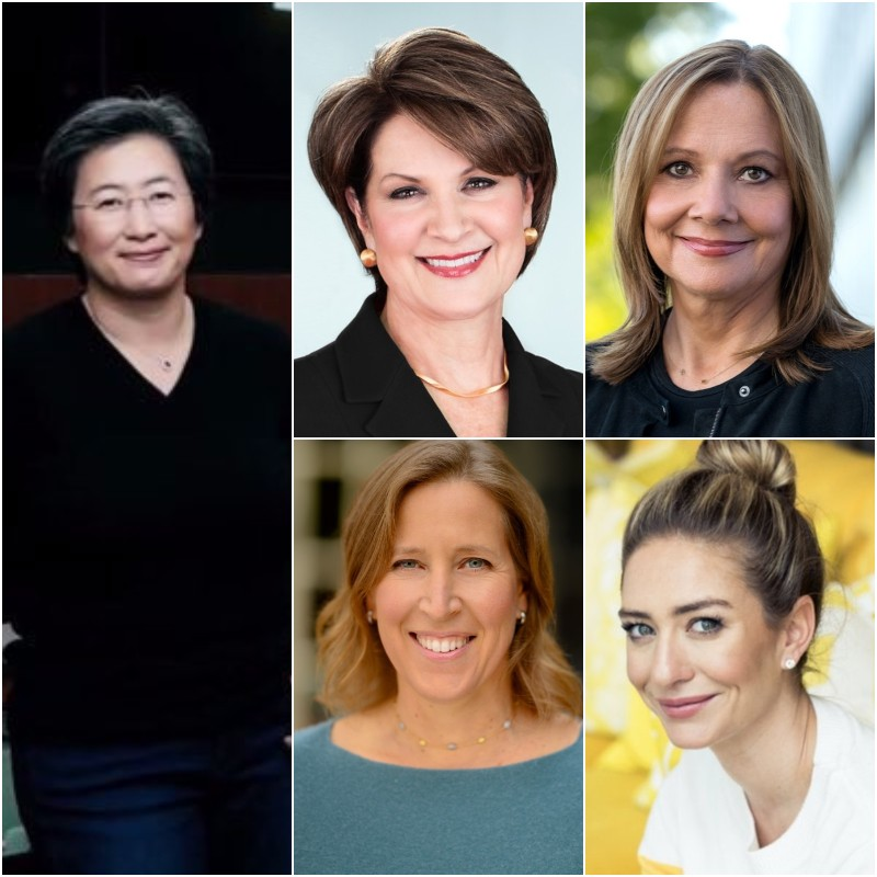Οι 5 ισχυρότερες CEOs του κόσμου