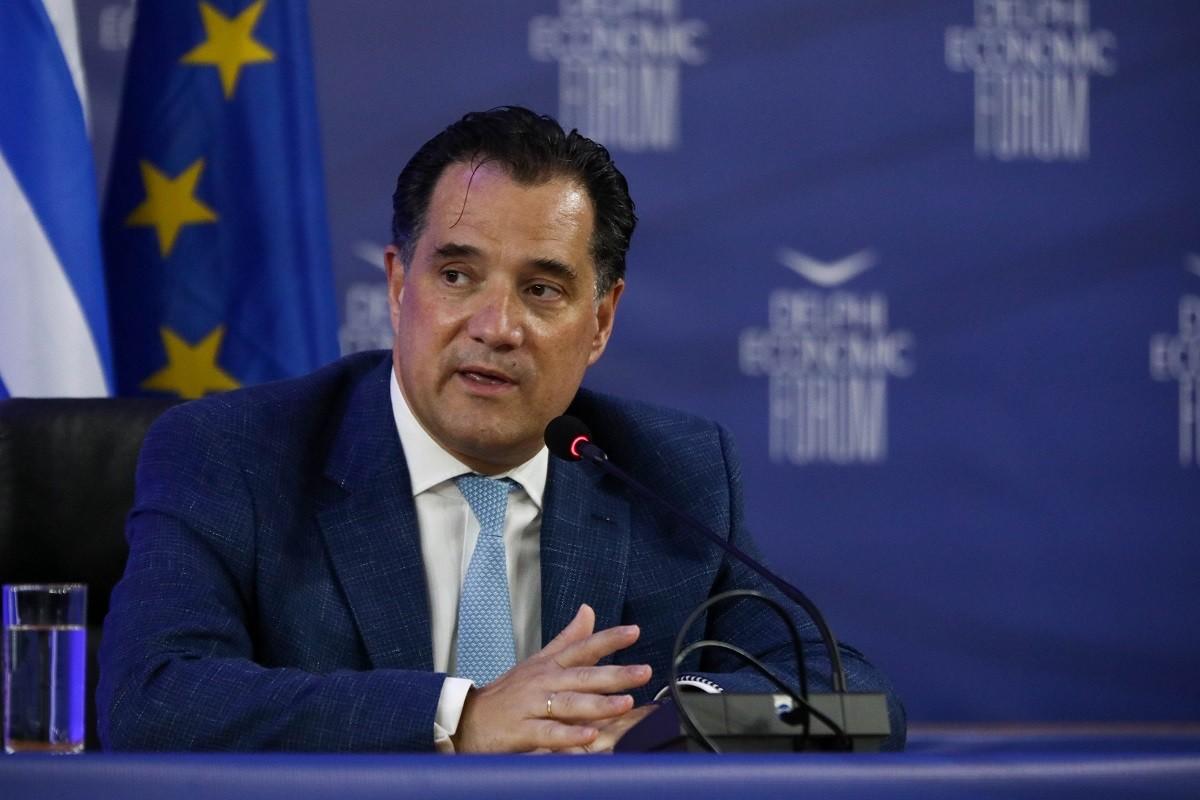 Άδωνις Γεωργιάδης: Πετύχαμε το 2020 την μεγαλύτερη αύξηση κατά +70% στις άμεσες ξένες επενδύσεις