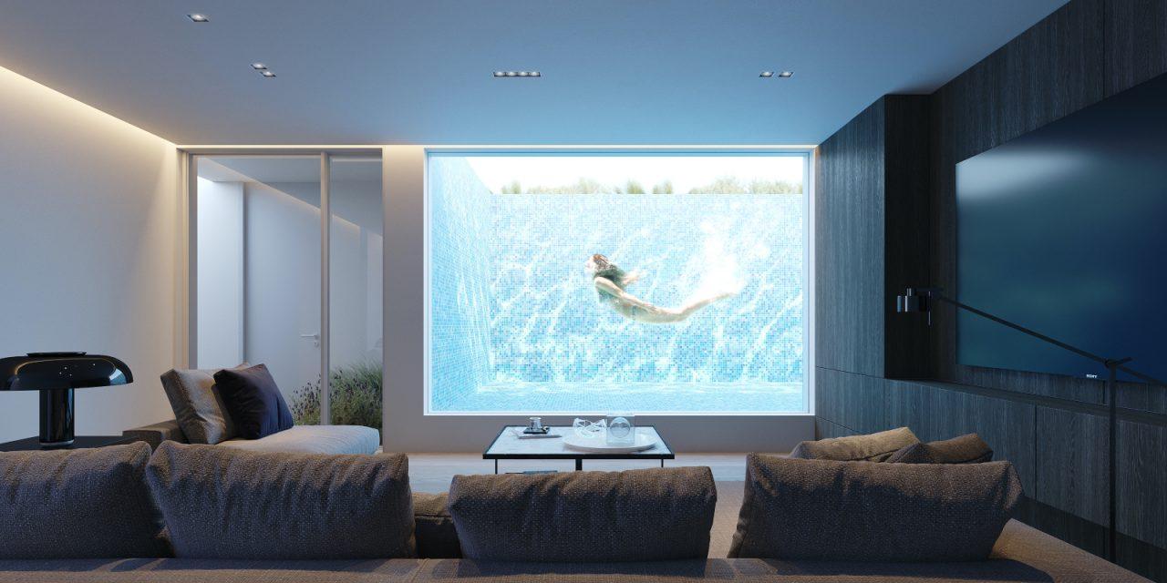 Μία μοντέρνα μεζονέτα με πισίνα στην καρδιά της αθηναϊκής Ριβιέρας