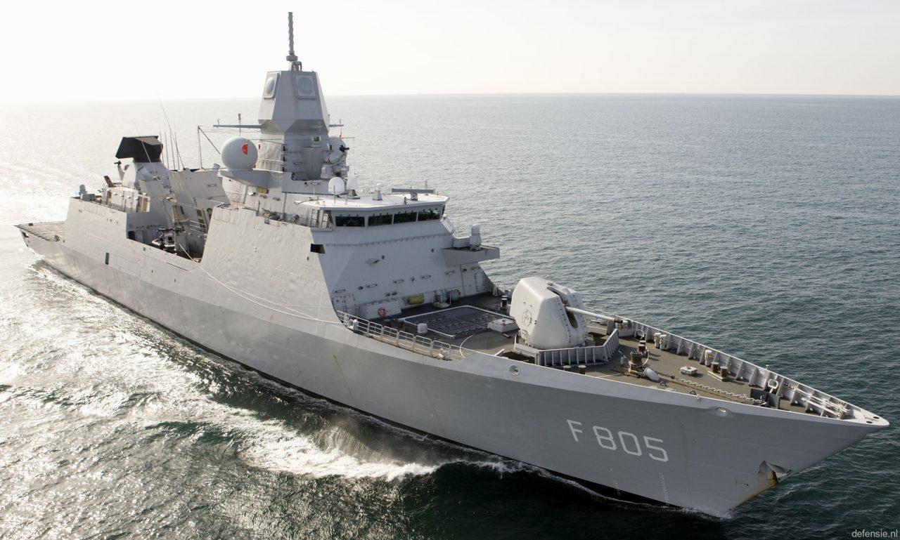 Μαύρη Θάλασσα: Παρενόχληση ολλανδικής φρεγάτας από ρωσικά μαχητικά