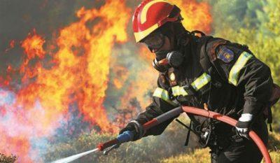 Πολύ υψηλός κίνδυνος πυρκαγιάς αύριο - Ποιες περιοχές απειλούνται