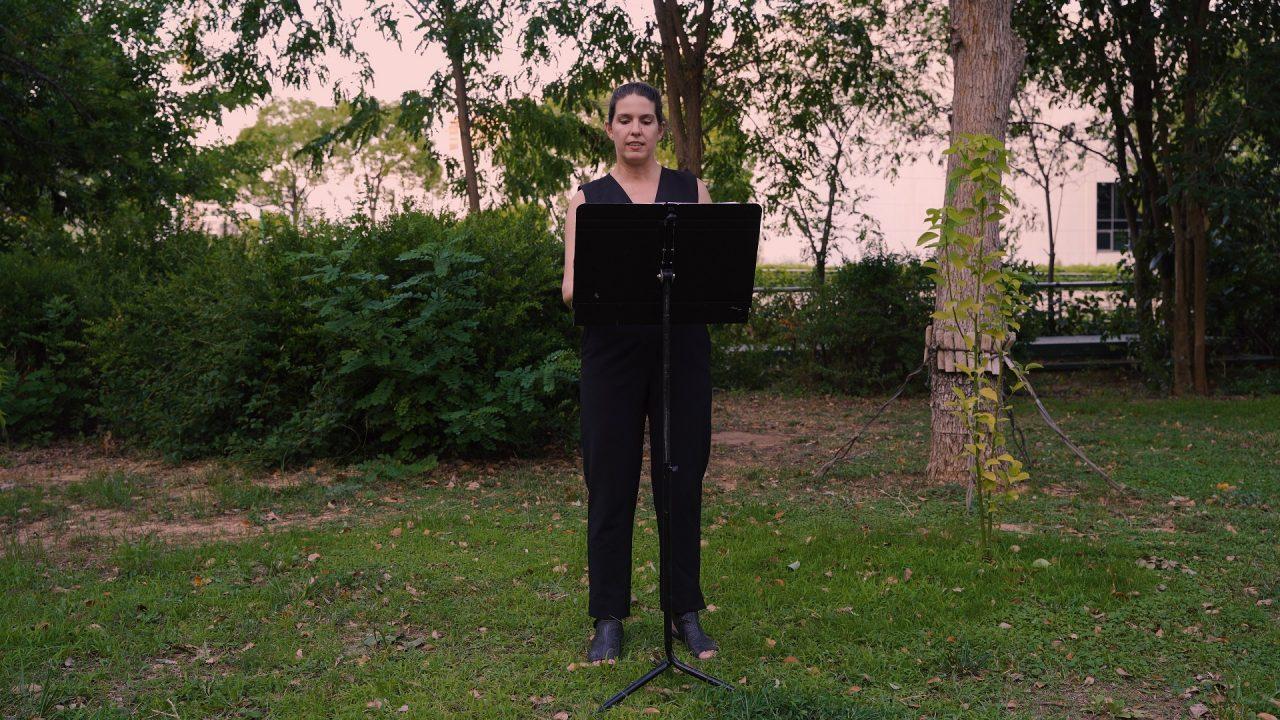 Άννα Καφέτση: Παρουσιάζει το 4ο annexM στον Κήπο του Μεγάρου Μουσικής Αθηνών