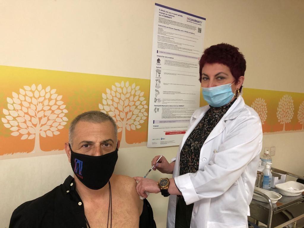 Με κορονοϊό ο Γιάννης Μώραλης: Ευτυχώς είμαι διπλά εμβολιασμένος