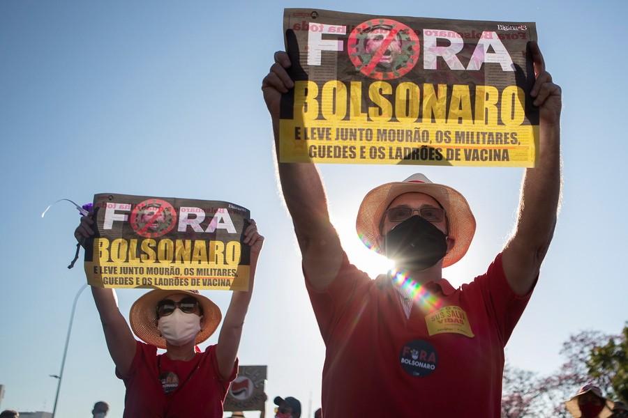 Βραζιλία: Νέες μαζικές διαδηλώσεις κατά του Μποσλονάρου