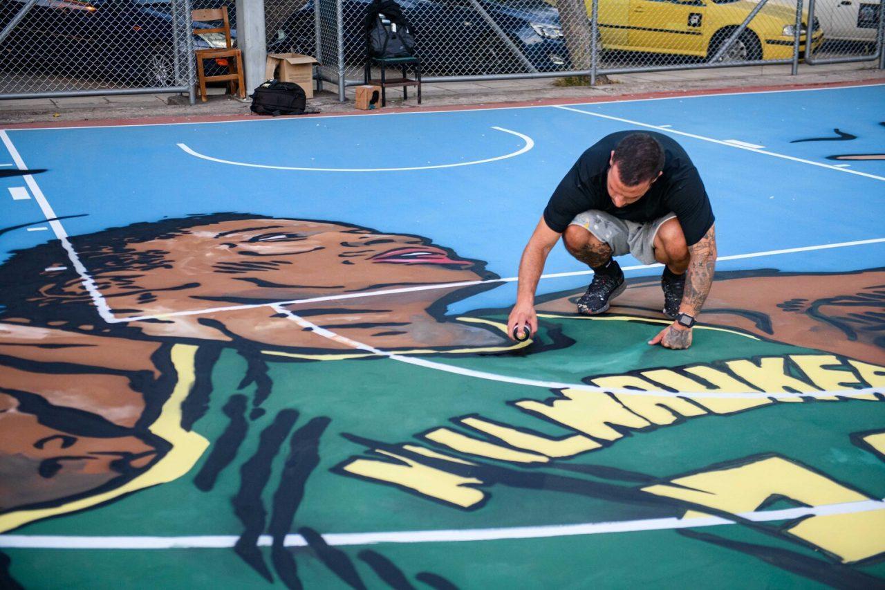 Δήμος Αθηναίων: Ανακατασκευάζονται τα γήπεδα μπάσκετ των Σεπολίων προς τιμήν του Γιάννη Αντετοκούνμπο