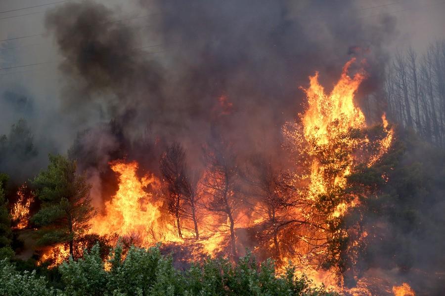 Παραμένει ανεξέλεγκτη η πυρκαγιά στη Βαρυμπόμπη: Απεγκλωβίστηκαν οι περισσότεροι εγκλωβισμένοι - Έκλεισε ξανά η Εθνική Οδός