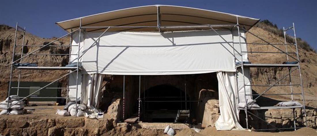 Κέλυφος προστασίας για τον τάφο της Αμφίπολης - Επισκέψιμο από το 2022