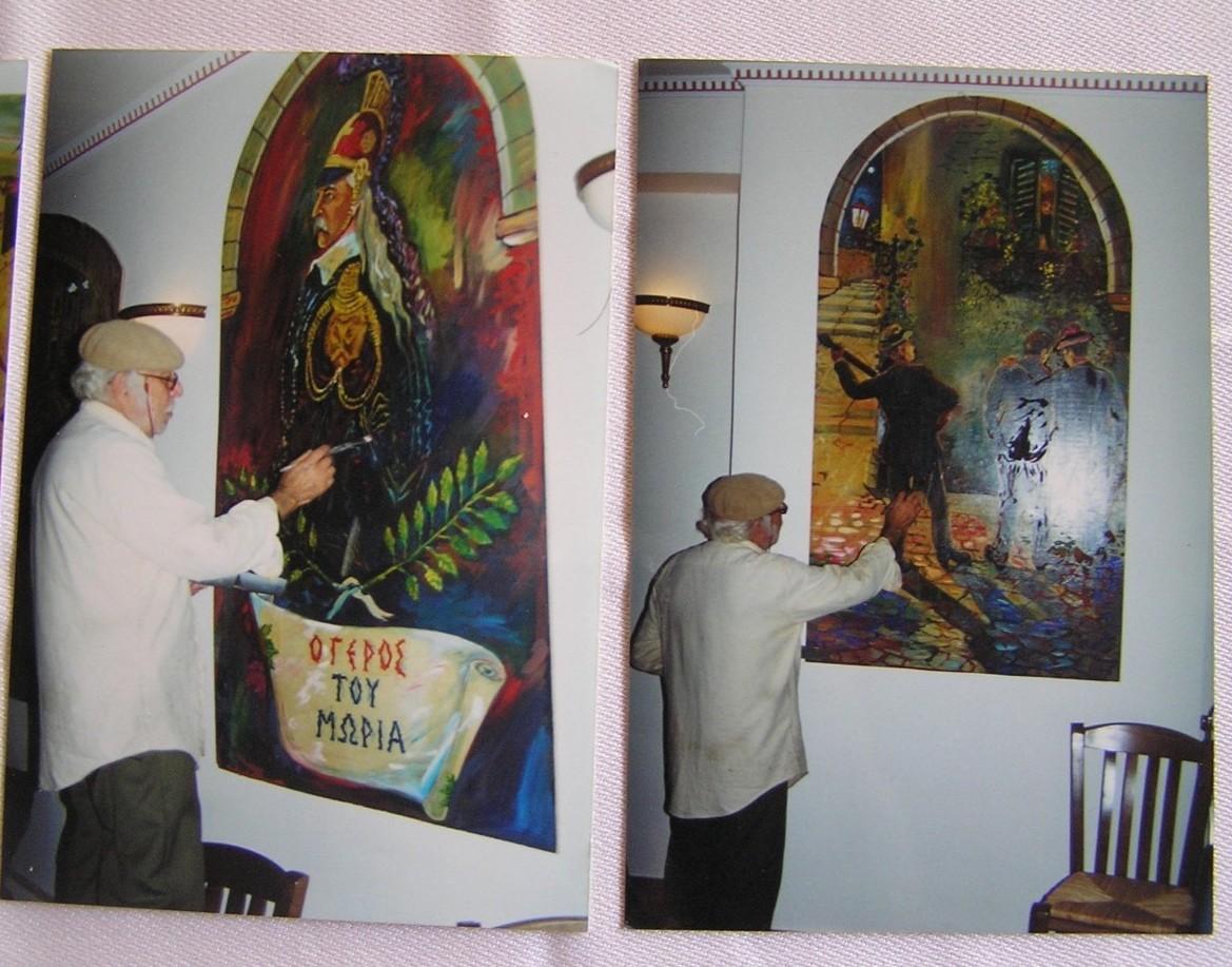 Η λαϊκή τέχνη στις ταβέρνες της Πλάκας, νεώτερο μνημείο