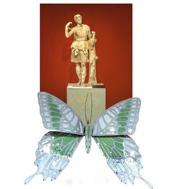 Οι πεταλούδες της Αφροδίτης Λίττη στην Αρχαία Μεσσήνη