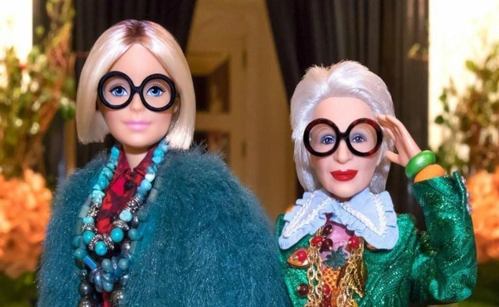 Η Iris Apfel ως Barbie