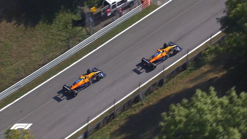 F1 Ιταλία: Απίστευτο 1-2 για τη McLaren!