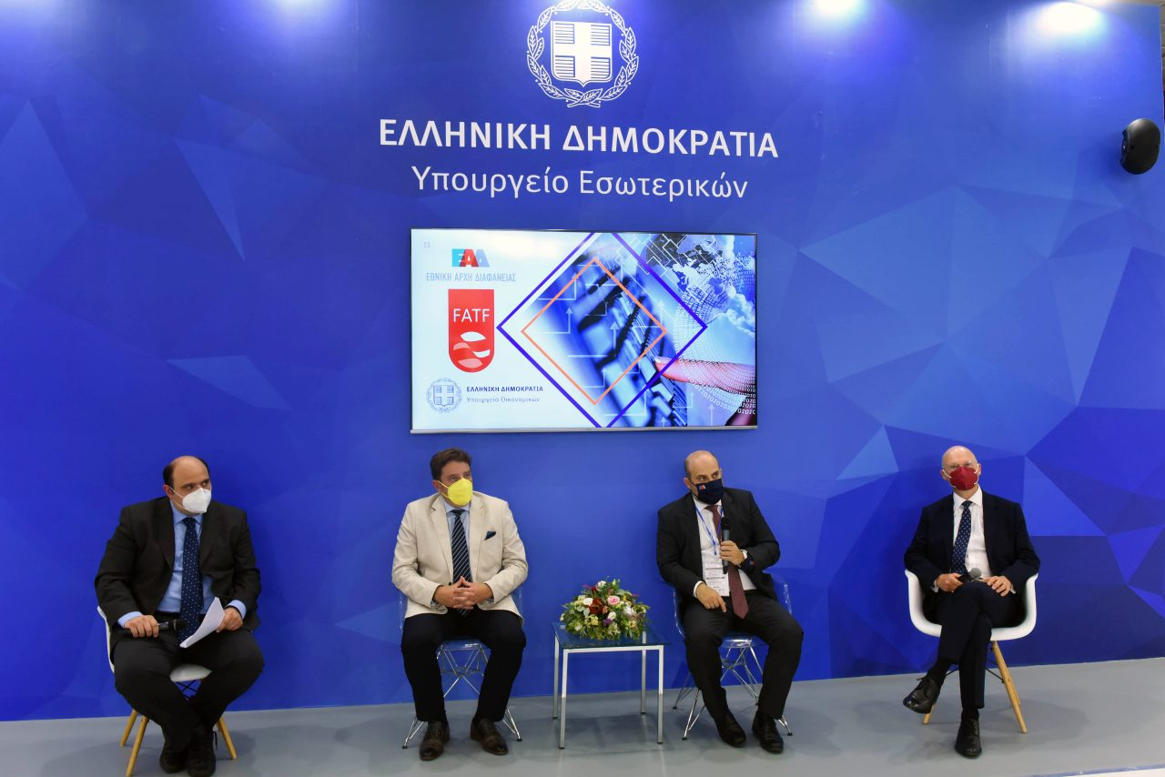 Τριαντόπουλος: Προτεραιότητα στην καταπολέμηση ξεπλύματος χρήματος και χρηματοδότησης της τρομοκρατίας