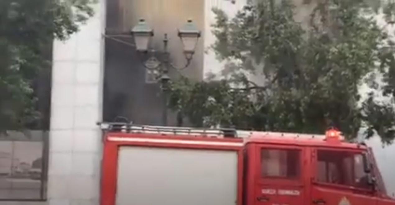 Alpha Bank: Εκκενώθηκε το κτήριο των κεντρικών γραφείων στην Σταδίου