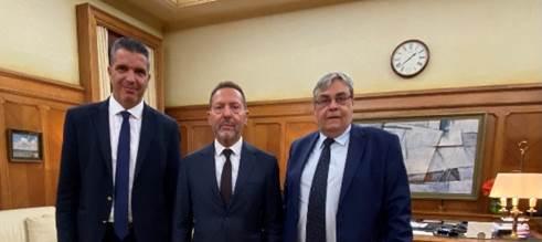 Συνάντηση Στουρνάρα με το προεδρείο του Συλλόγου τηςAlpha Bank